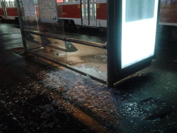 На Контрактовой площади разбили остановку