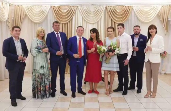 Ляшко прожил со своей избранницей 20 лет, прежде чем сочетаться браком