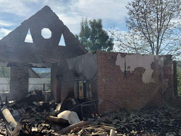 Огонь потушили на площади 367 кв.м.