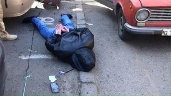 СБУ задержала  диверсионно-разведывательную группу