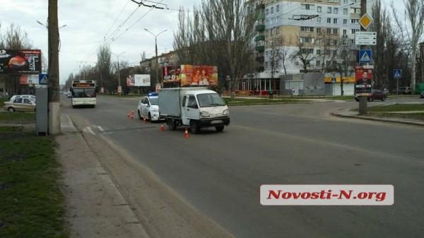 ДТП случилось на нерегулируемом пешеходном переходе