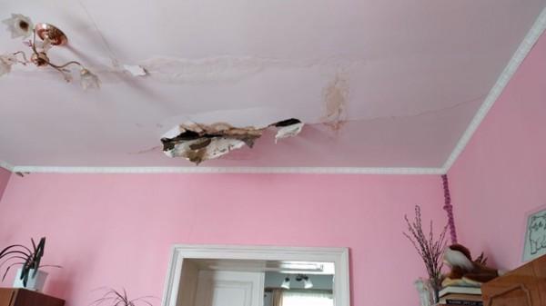 Последствия взрыва в квартире