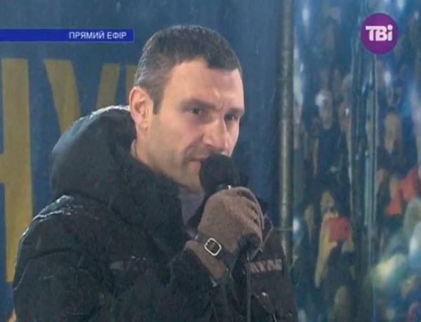Виталий Кличко: