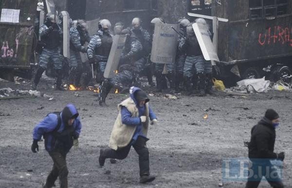 Милиция задержала за беспорядки 70 человек