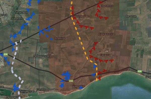 Дуга Саханка — Ленинское — Коминтерново якобы под атакой