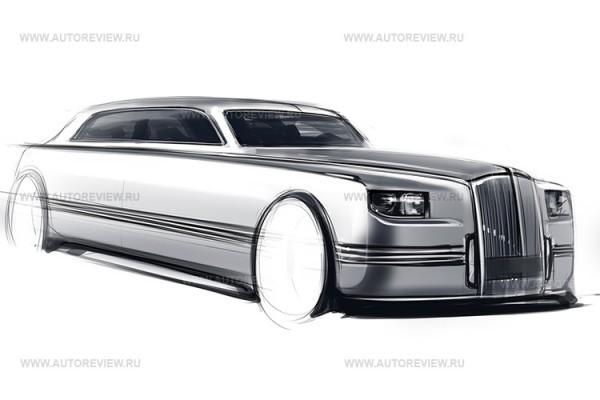 Прототип лимузина для руководства Российской Федерации