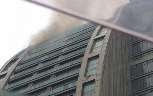 Гашение огня на 13-20 этажах довольно проблематично