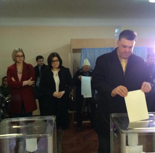 Выборы 2014: Олег Тягныбок