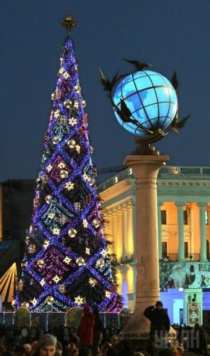 Новогодняя елка в 2007 году