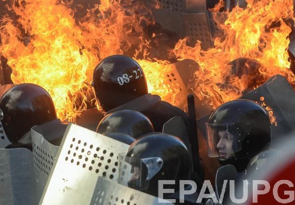 18 февраля 2014 года в центре Киева начались массовые убийства