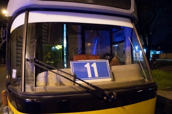Инцидент случился в трамвае № 11