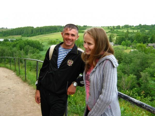 Антон Короленко и его жена Наталья