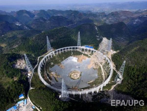 Гигантский телескоп в Китае