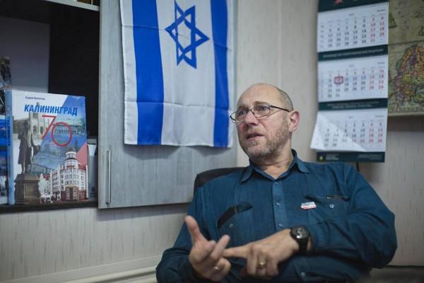Сергей Стерлин, главный редактор Еврейской газеты Калининграда