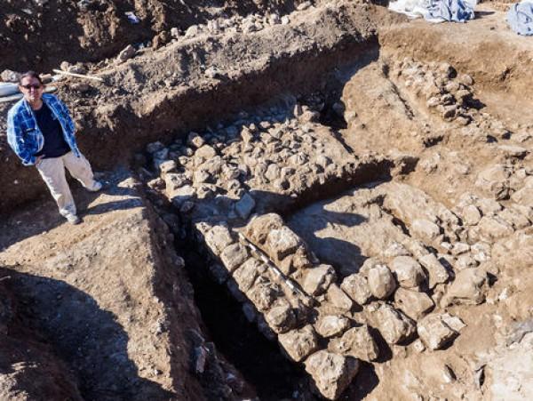 Место раскопок в Иерусалиме
