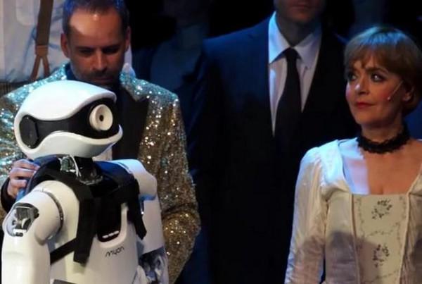 Робот спел в опере