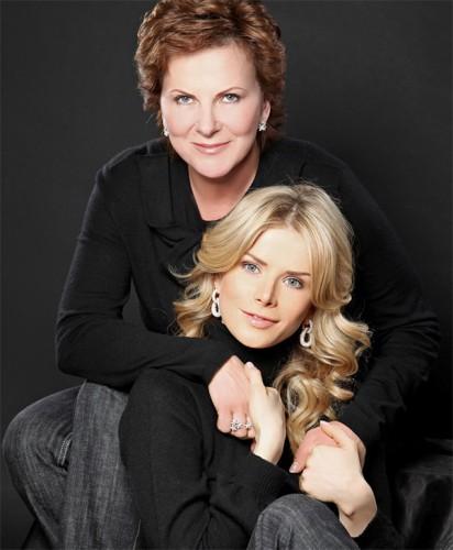 Татьяна Донец с матерью