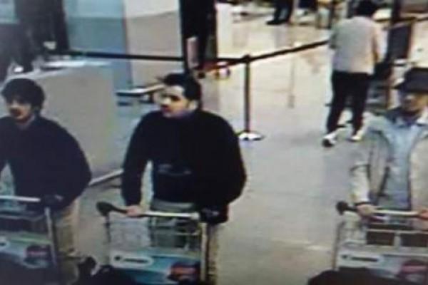 Предполагаемые участники терактов в Брюсселе
