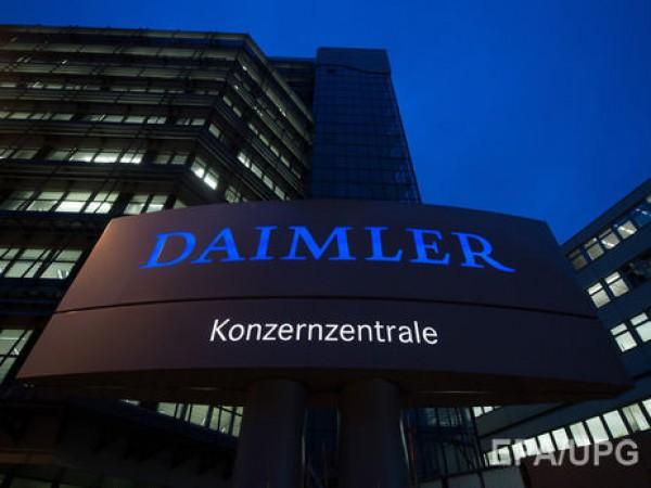 Daimler сокращает работников на двух заводах