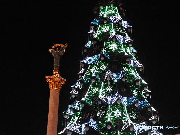 Главная елка на Майдане
