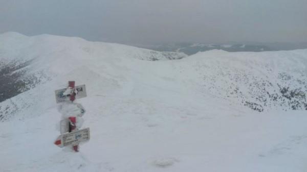 Спасатели предупреждают об опасности одиночных восхождений на Черногорский хребет
