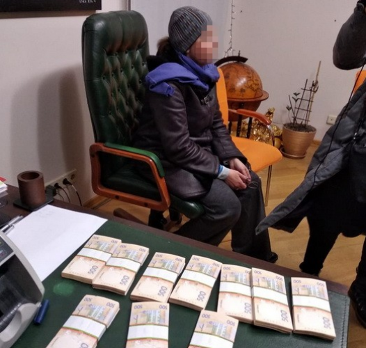 Руководителя ОО задержали в одном из столичных офисов