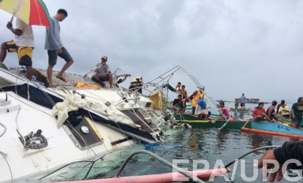 Яхту обнаружили рыбаки