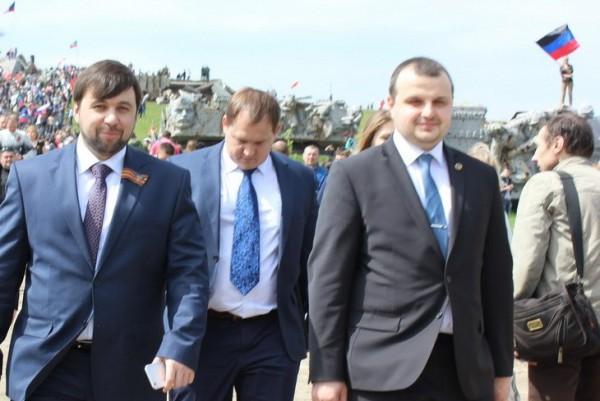 Помощник Пушилина Александр Лаврентьев