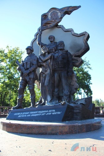 Кто подорвал памятник - неизвестно