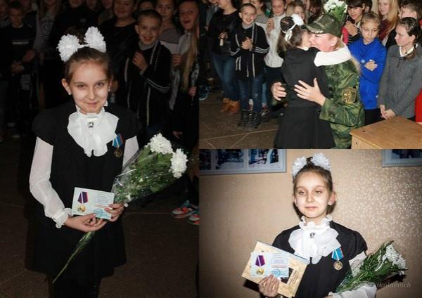 Детей поощряют медалями