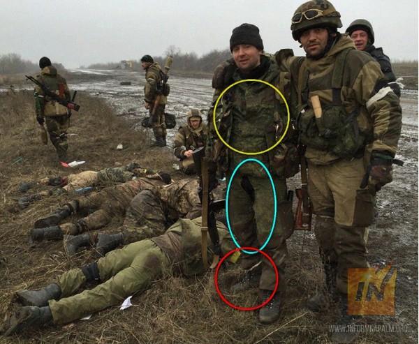 Волонтеры показали российских боевиков