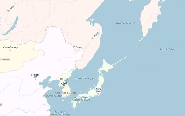 В Охотском море исчез остров РФ площадью более 70 тысяч кв. км