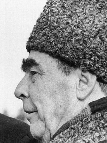 Леонид Ильич Брежнев в 1974 году.