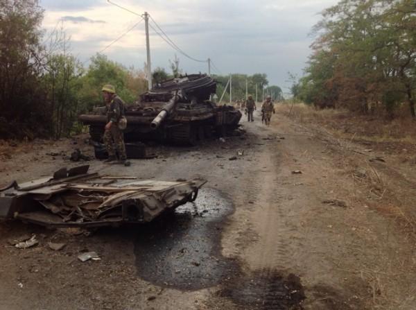 Матиос рассказал о количестве российских военных под Иловайском