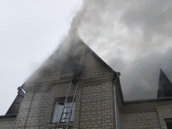 Спасатели ликвидировали пожар