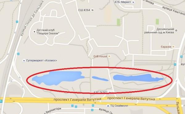 В Деснянском районе Киева появится новый парк