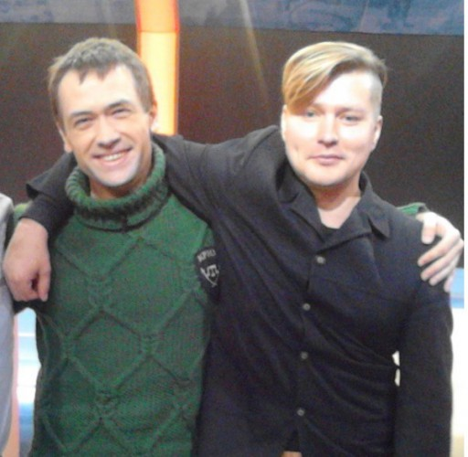 Роман Стригунков (справа)