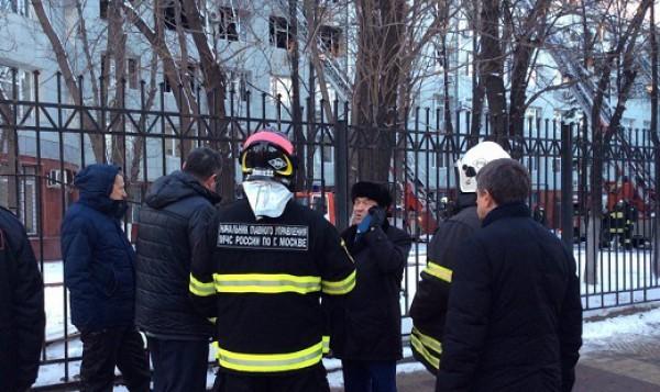 В столице России  зажегся  Дом культуры управления МВД