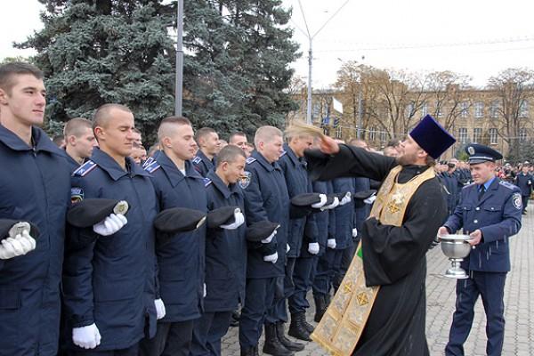 Присяга курсантов Национальной академии внутренних дел