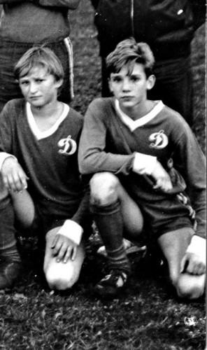 Андрей Шевченко увлекался футболом с детства