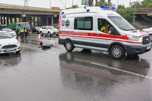 Женщина скончалась на месте от полученных травм