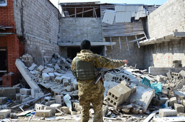 Обострение под Широкино: появилось видео, как бойцы АТО дают отпор боевикам