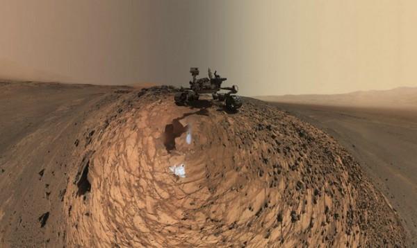 NASA опубликовало фото дюн Марса