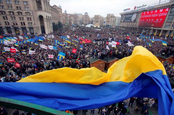 ФОТО недели: старый и новый Евромайдан - Новости дня