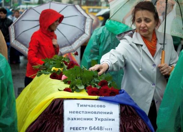 Военных похоронили на Краснопольском кладбище