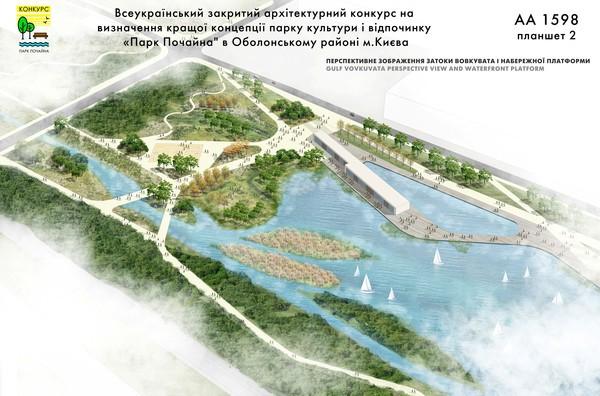 Киевсовет еще зимой создал парк культуры и отдыха Парк Почайна на Оболони