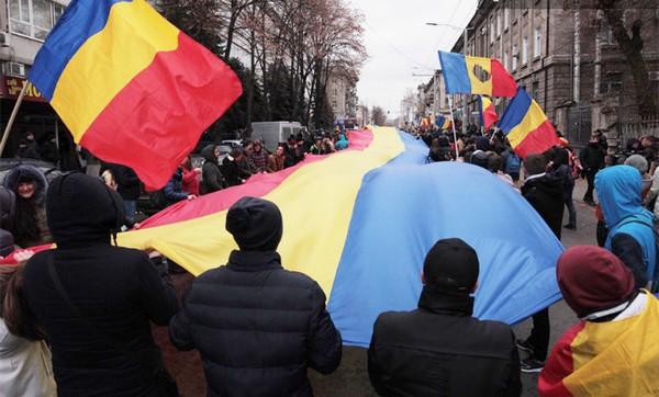В Молдове протестуют несогласные с избранием Додона