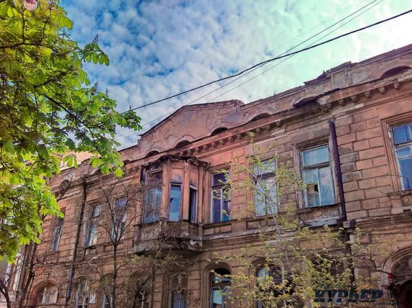 Дом на улице Гоголя очень старый