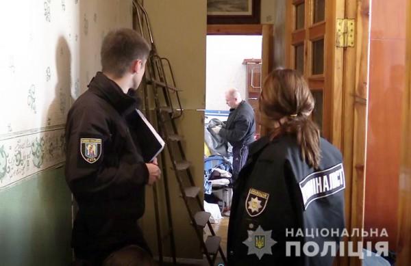Инцидент произошел в Голосеевском районе Киева