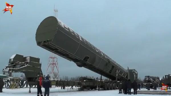 Ракетный комплекс Сармат пока не принят на вооружение